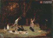 Repin Ilya. The Picnic. 1875
