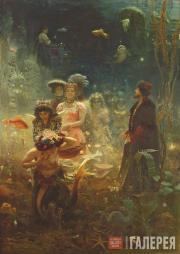 Repin Ilya. Sadko. 1876