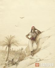 Aivazovskiy Ivan. A Young Negro in Stambuli, Rhodes. 1845