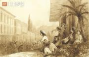 Aivazovskiy Ivan. Greek Women on the Islands of the Greek Archipelago. 1845