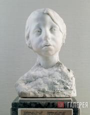 Golubkina Anna. A Girl (Manka). After 1904