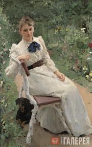 Serov Valentin. Portrait of Olga Tomara. 1892