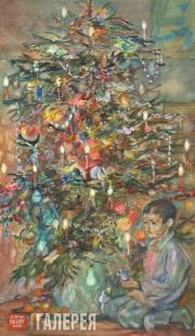 Bruni Lev. A Wartime Christmas Tree. 1942