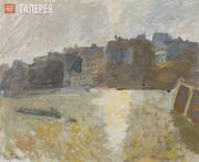 Falk Robert. Twilight on the Seine. 1930s