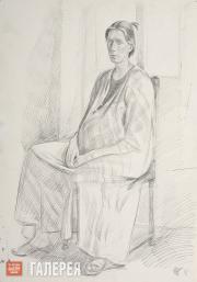 Жилинский Дмитрий. Катя Голицына. 1982