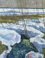 Zverkov Yefrem. Spring Brook