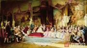 Jacobi Valery. Inauguration of the Imperial Academy of Arts on July 7 1765. 1889