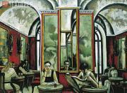 Salakhov Tahir. Rome. Caffe Greco. 2002