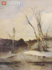 Savrasov Alexei. Spring. 1880s