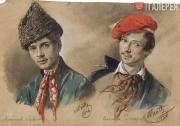 Scotti Mikhail. The Armenian Nersesov and the Chechen Zakharov. 1836