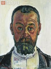 Hodler Ferdinand. Self-portrait. 1912
