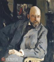 Serov Valentin. Portrait of Ilya Ostroukhov. 1902