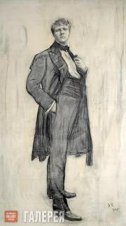 Serov Valentin. Portrait of Feodor Ivanovich Chaliapin. 1905
