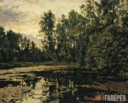 Serov Valentin. An Overgrown Pond. Domotkanovo. 1888