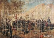 FRANZ A. ROUBAUD. The Taking of Gunib Aul and Shamil's Capture on August 25 1859