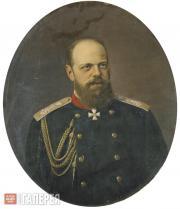 Sсhilder Nikolai. Portrait of Alexander III (1845-1894)