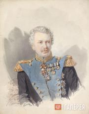 Соколов Александр Петрович. Портрет Ф.Ф. Шуберта. 1845