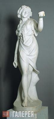 Unknown West European sculptor. Maenad. Second half of the 19th century