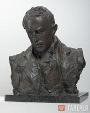 Serov Valentin. Portrait sculpture of Paolo Troubetzkoy. 1898
