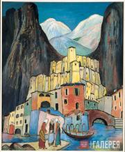 Werefkin Marianne. City of Mourning. Circa 1930