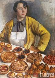 Serebryakova Zinaida. Baker Woman from the RUE Lepic. 1927