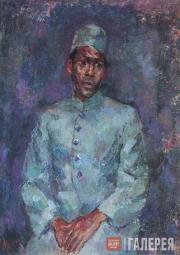 Falk Robert. Portrait of an Indian boy