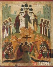 Неизвестный художник. Происхождение честных древ Животворящего Креста Господня.