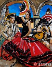 Salakhov Tahir. Victory Dance. Spain. 2005