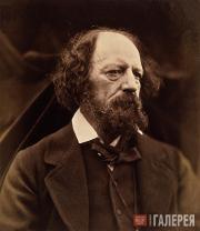 Julia Margaret CAMERON. Alfred Tennyson, 1st Baron Tennyson. 1869