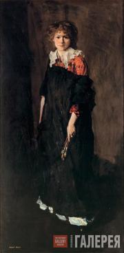 Роберт ГЕНРИ. Студентка художественной школы (Мисс Жозефин Нивисон). 1906