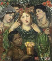 Dante Gabriel Rossetti. Beloved (The Bride). 1851-1852