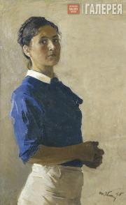 Yablonskaya Tatiana. Self-portrait. 1945