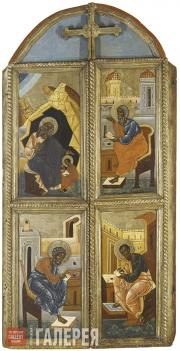 Неизвестный художник. Царские врата. Середина – вторая половина XVI в.