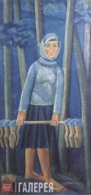 Михаил БОЙЧУК. Молочница. Начало 1920-х