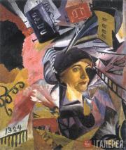 David BURLYUK. Time. 1910s