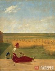 Venetsianov Alexei. Harvesting. Summer. Mid-1820s