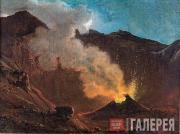 Catel Franz. View of Vesuvius. 1812