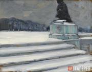 Якунчикова Мария. Версаль зимой. 1898