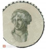 Scotti Giovanni Battista (Ivan Karlovich). Head of a Woman