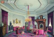 Mayblum Jules. The Smoking-room of the Stroganov Palace, St. Petersburg. 1863-18