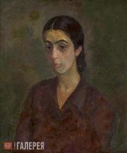 Falk Robert. Armenian (Portrait of Zoya Kalatozova). 1952