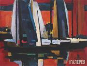 Jonas Svazas. Red Ships. 1971