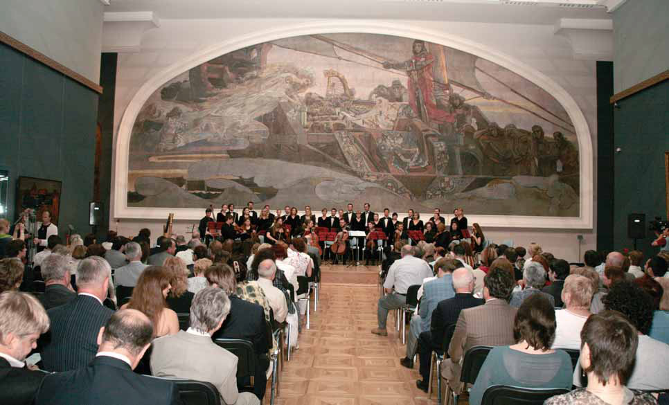 The opening of the Mikhail Vrubel room