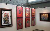 The Zurab Tsereteli exhibition at the Joan Miro Hall at UNESCO Headquarters