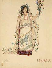 Viktor VASNETSOV. Spring the Beautiful. 1885