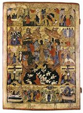 The Resurrection of Christ (Descent into Limbo). 16th cent.