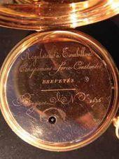 A Bréguet gold watch
