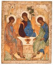 Andrei RUBLEV. The Holy Trinity. 1425–1427