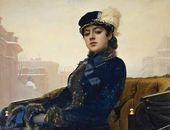 Ivan KRAMSKOY. The Unknown Woman. 1883