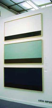 Alyona KIRTSOVA. Triptych Landscapes. 2006